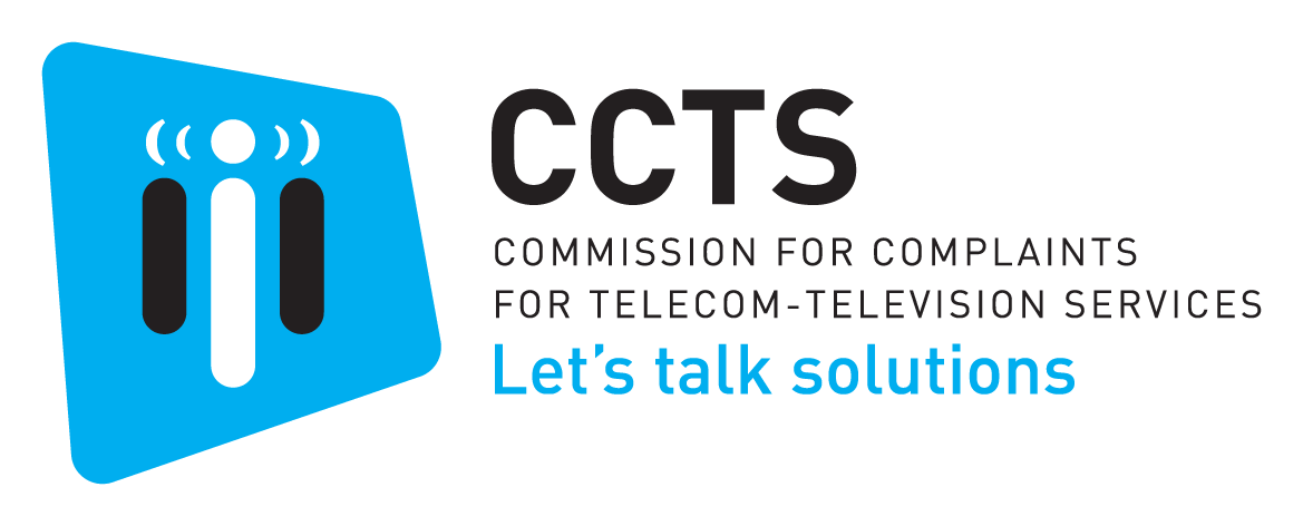 CCTS 'Let's talk solutions' logo