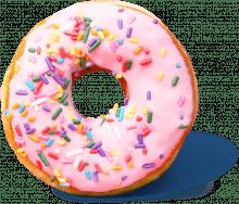 Sprinkle donut