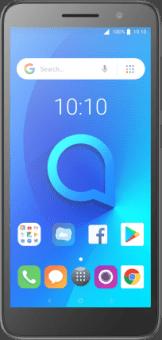Alcatel 1 Black front image