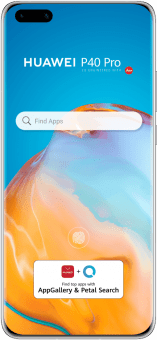 HUAWEI P40 pro siver front