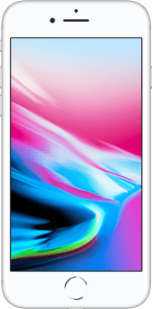 iPhone 8 silver front