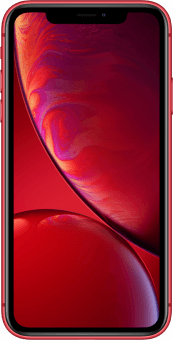 iPhone XR Product RED front