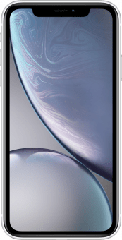 iPhone XR white front