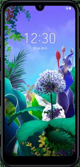 LG Q60 front