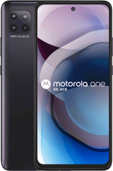 Motorola One 5G Ace frontback