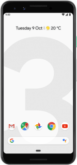 Pixel 3 white front