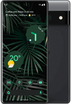 Google Pixel 6 Pro front and back