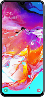 Samsung Galaxy A70 front