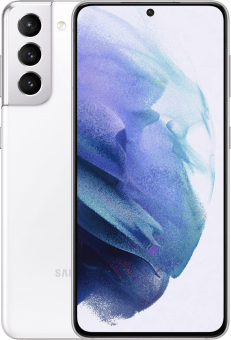 Samsung Galaxy S21 Phantom white frontback