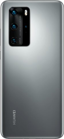 HUAWEI P40 pro siver back