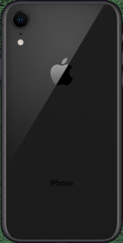 iPhone XR black back