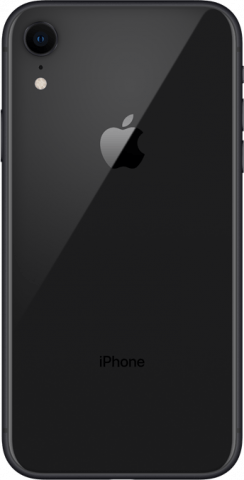 iPhone XR black back