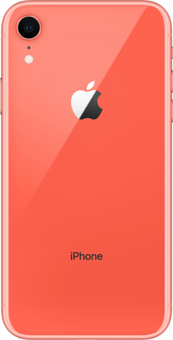 iPhone XR coral back