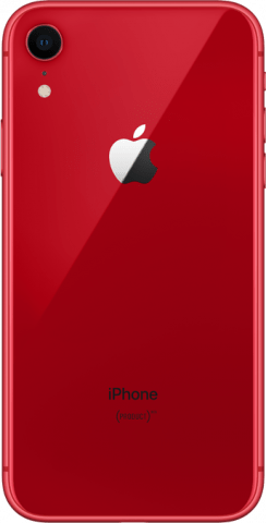 iPhone XR Product RED back