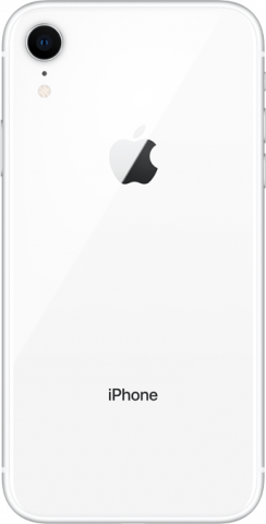 iPhone XR white back