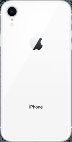 iPhone XR white back