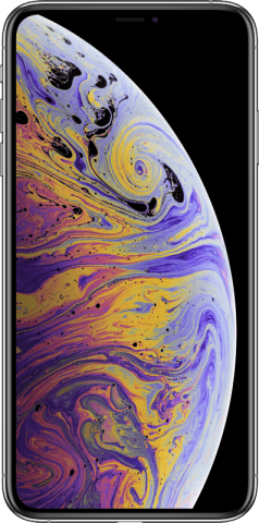 iPhone Xs Max silver front