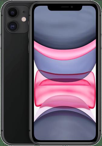 iPhone 11 Black back to back