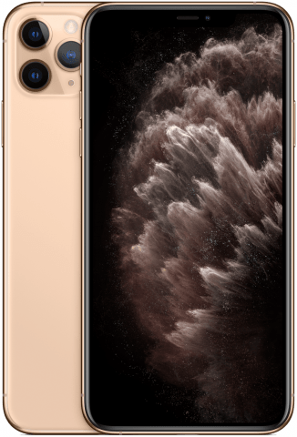 iPhone 11 Pro Gold back to back