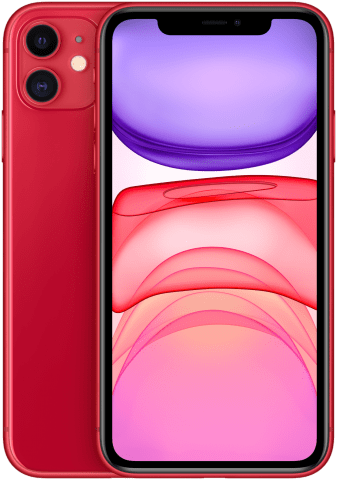 iPhone 11 Product RED back to back