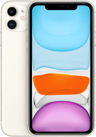 iPhone 11 White back to back