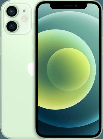 iPhone 12 mini green back to back
