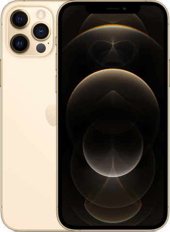 iPhone 12 Pro gold back to back