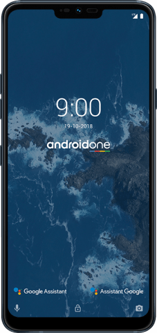 LG G7 One black front
