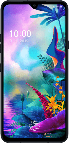 LG G8X ThinQ black front