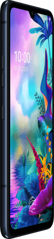 LG G8X ThinQ black side left