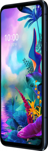 LG G8X ThinQ black side right