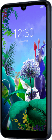 LG Q60 angled