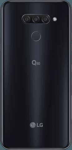 LG Q60 back