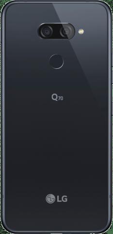 LG Q70 back