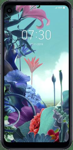 LG Q70 front