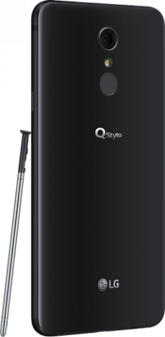 LG Q Stylo+ Back with Pen