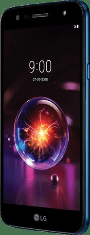 LG X Power 3 angled