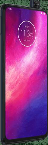 Motorola One Hyper angled view