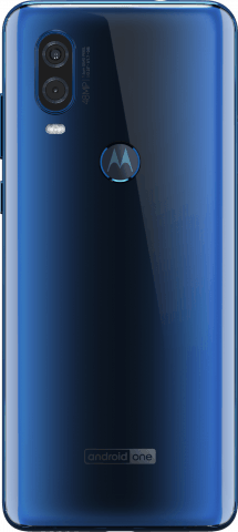 motorola one vision back
