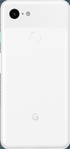 Pixel 3 white back