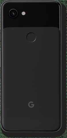 Pixel 3a black back