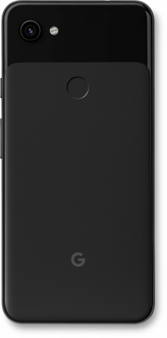 Pixel 3a XL black back