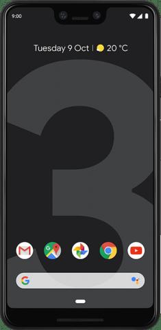 Google Pixel 3 XL black front