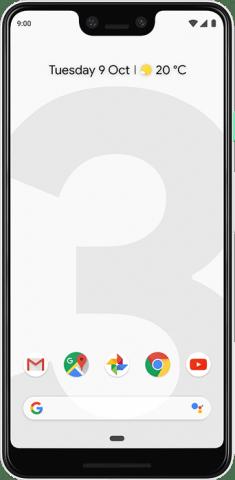 Google Pixel 3 XL white front