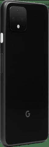 Google Pixel 4 angled black back