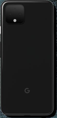 Google Pixel 4 black back