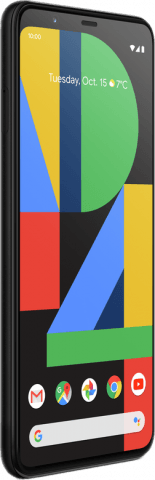 Google Pixel 4 angled front