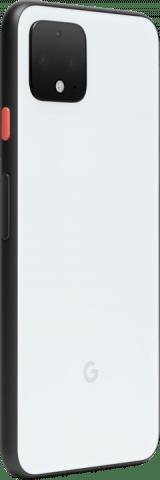 Google Pixel 4 angled white back