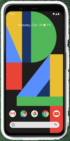 Google Pixel 4 XL black front
