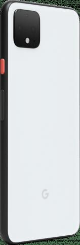Google Pixel 4 XL angled back white